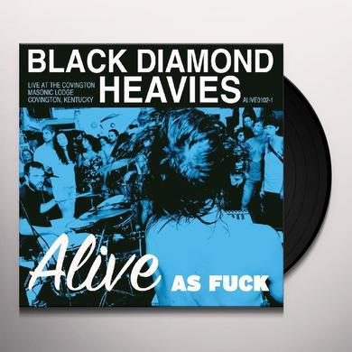 Black Diamond Heavies ALIVE AS FUCK: MASONIC LODGE COVINGTON KY Vinyl Record - Limited Edition