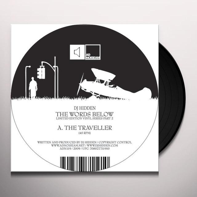 Dj Hidden WORDS BELOW 2 Vinyl Record - Limited Edition
