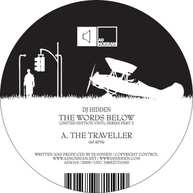 Dj Hidden WORDS BELOW 2 Vinyl Record