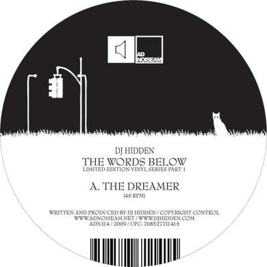 Dj Hidden WORDS BELOW 1 Vinyl Record