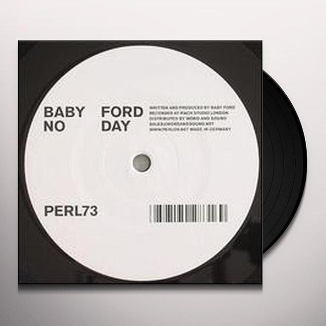 Baby Ford GRAVY TRAIN Vinyl Record