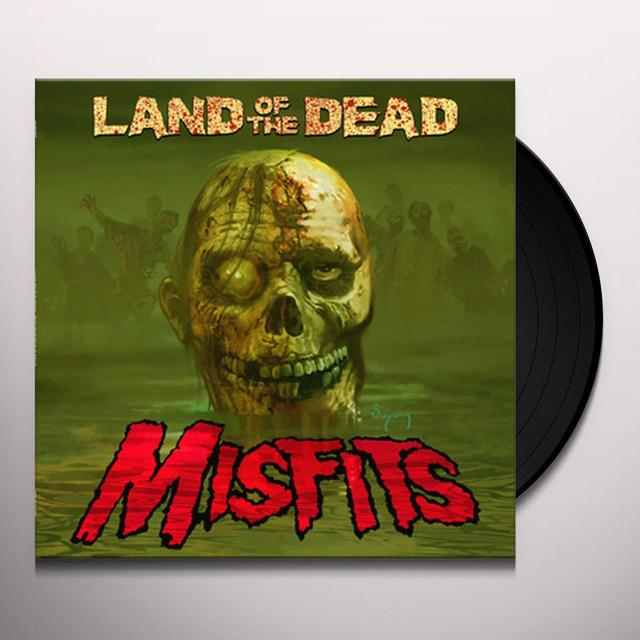 The Misfits LAND OF THE DEAD Vinyl Record
