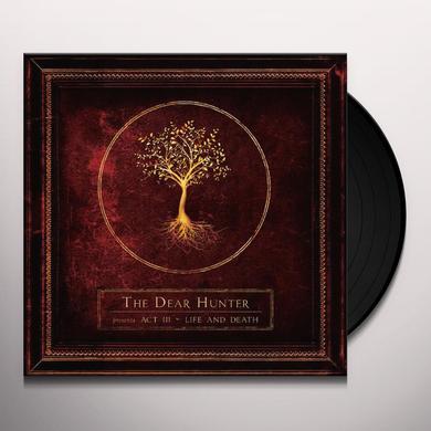The Dear Hunter ACT III: LIFE & DEATH Vinyl Record