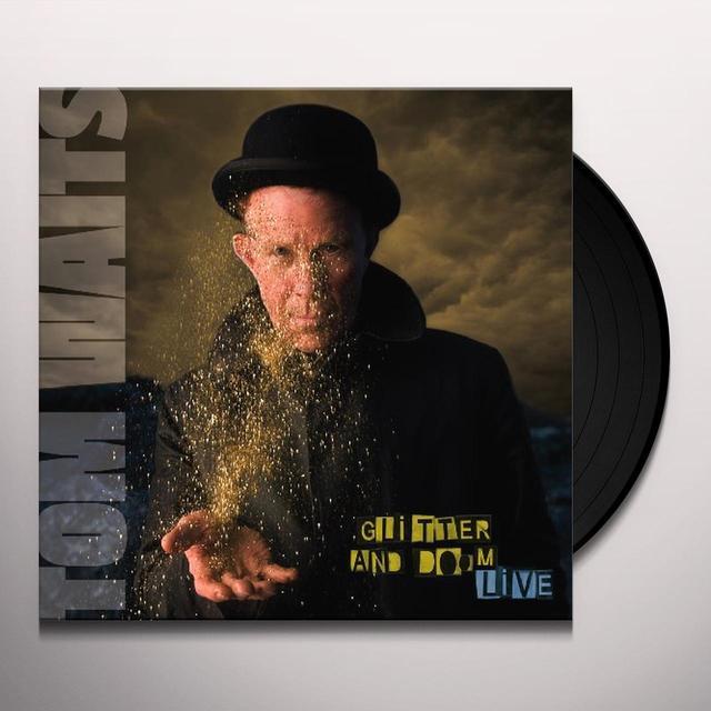 Tom Waits GLITTER & DOOM LIVE Vinyl Record - 180 Gram Pressing