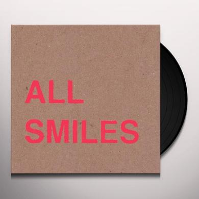 All Smiles OH FOR THE GETTING & NOT LETTING GO Vinyl Record