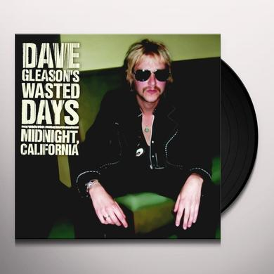 Dave Gleason MIDNIGHT CALIFORNIA Vinyl Record