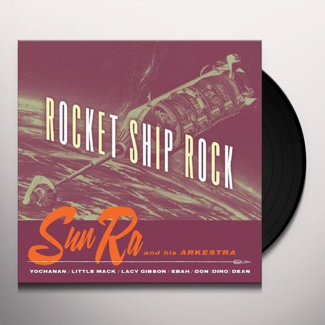 Sun Ra ROCKET SHIP ROCK Vinyl Record
