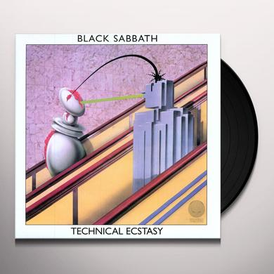 Black Sabbath TECHINCAL ECSTACY Vinyl Record - Remastered