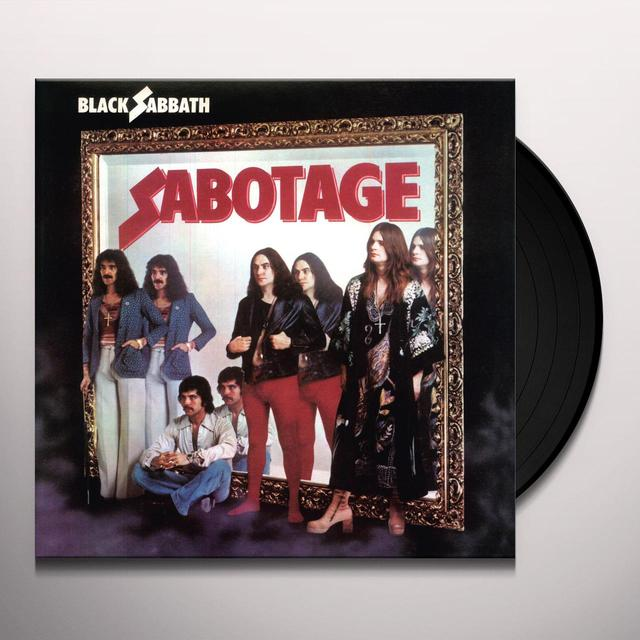 Black Sabbath SABOTAGE Vinyl Record - UK Release