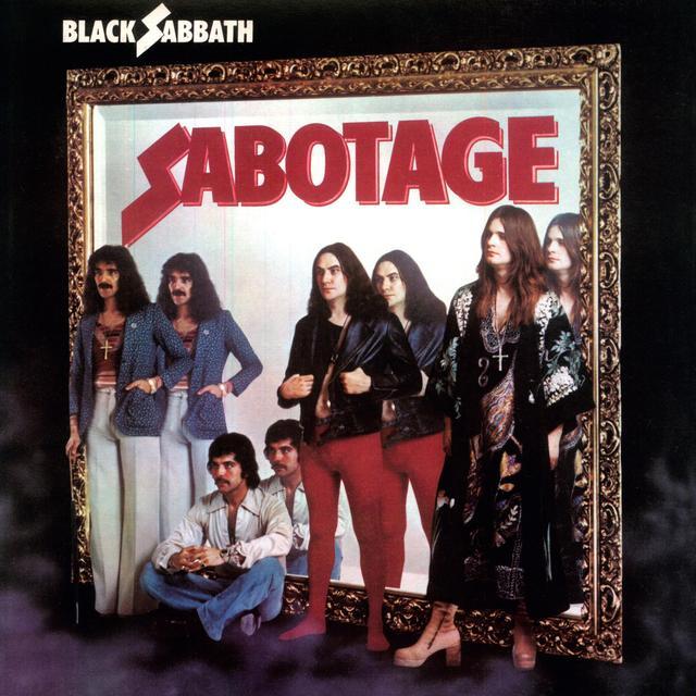 Black Sabbath SABOTAGE Vinyl Record - UK Release