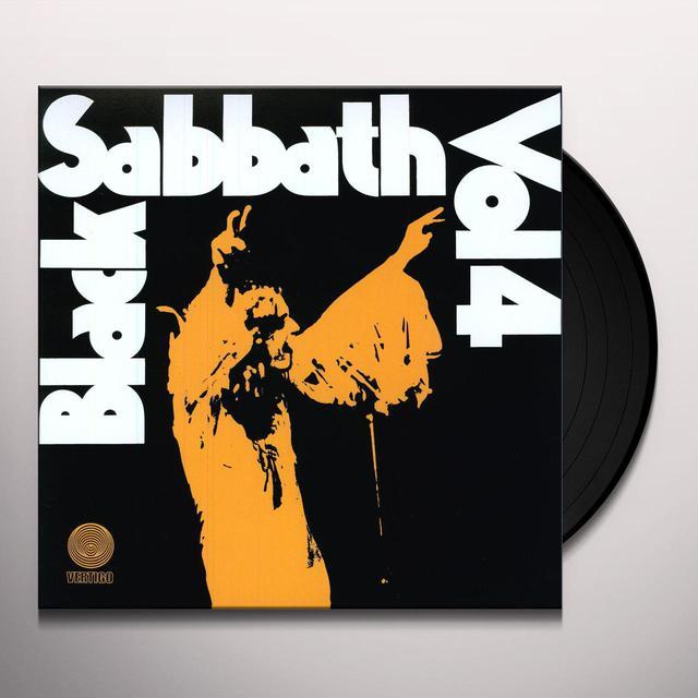 BLACK SABBATH 4 Vinyl Record