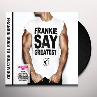 Frankie Goes To Hollywood FRANKIE SAY GREATEST Vinyl Record