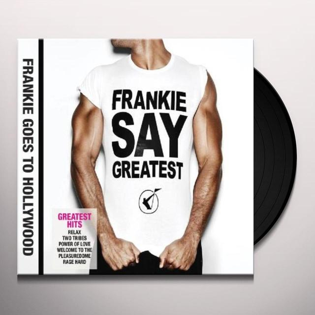 Frankie Goes To Hollywood FRANKIE SAY GREATEST Vinyl Record