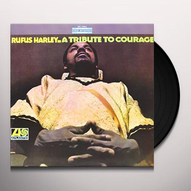 Rufus Harley TRIBUTE TO COURAGE Vinyl Record