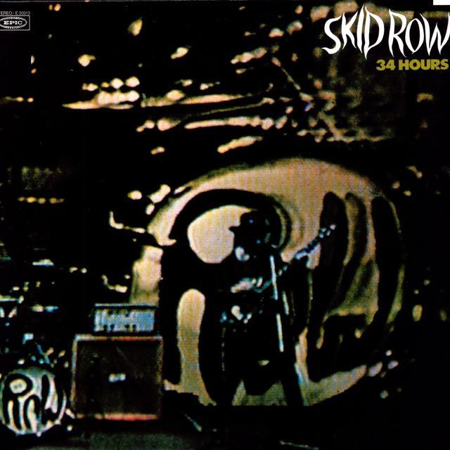 Skid Row 34 HOURS Vinyl Record