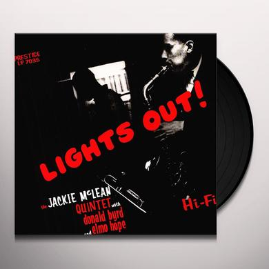 Jackie Mclean LIGHTS OUT Vinyl Record