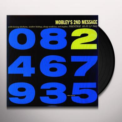 Hank Mobley MOBLEY'S 2ND MESSAGE Vinyl Record