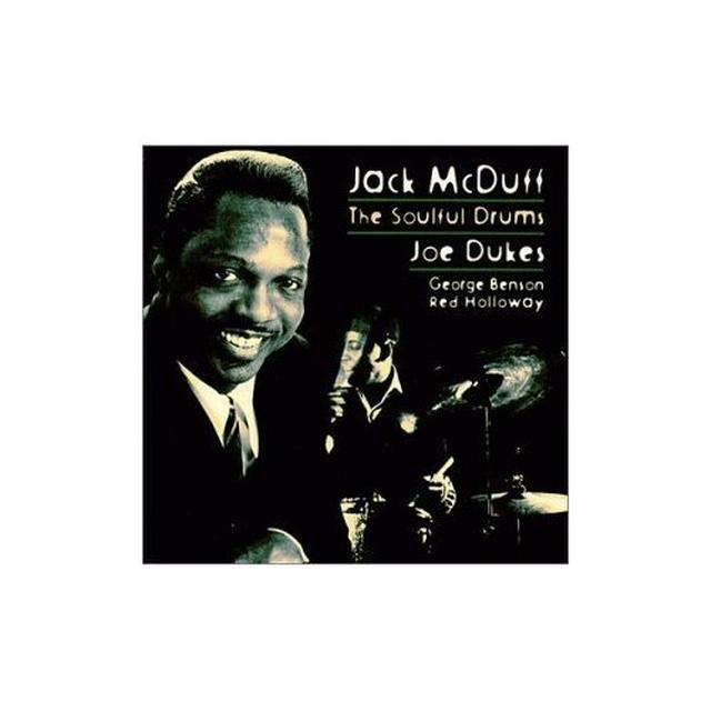 Joe Dukes / Jack Mcduff SOULFUL DRUMS OF JOE DUKES Vinyl Record