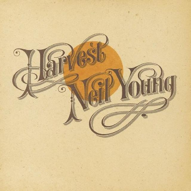 Neil Young HARVEST Vinyl Record