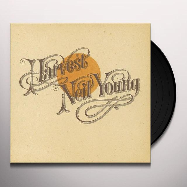 Neil Young HARVEST Vinyl Record - Remastered