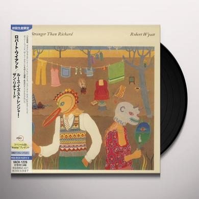Robert Wyatt RUTH IS STRANGER THAN RICHARD Vinyl Record