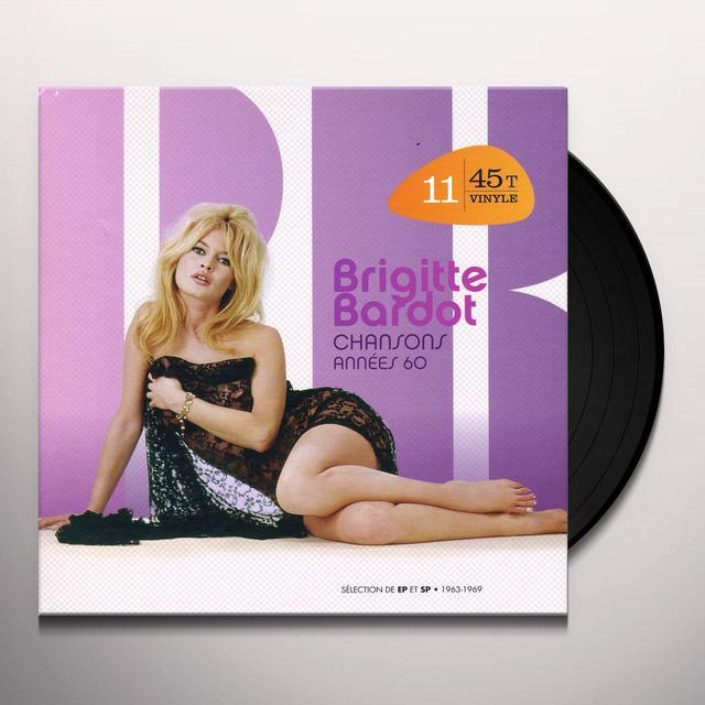 Brigitte Bardot CHANSONS ANNEES 60 (FRA) Vinyl Record