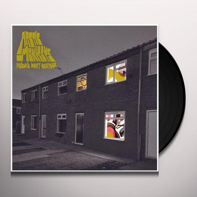Arctic Monkeys FAVOURITE WORST NIGHTMARE Vinyl Record
