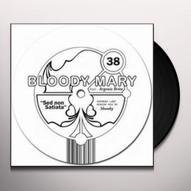 Bloody Mary SED NON SATIATA (EP) Vinyl Record - Remixes