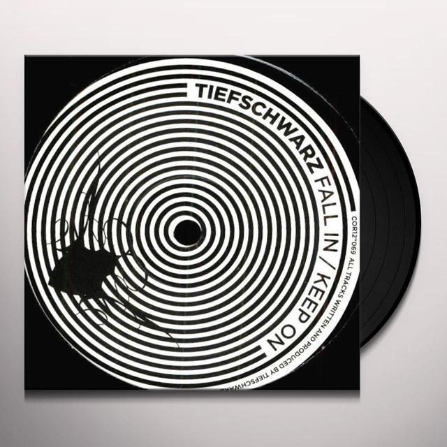 Tiefschwarz FALL IN & KEEP ON (EP) Vinyl Record
