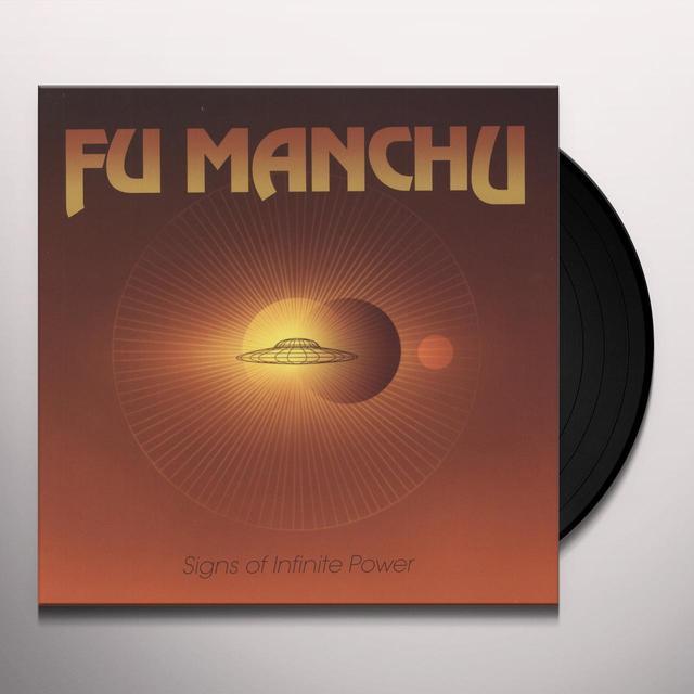 Fu Manchu SIGNS OF INFINITE POWER Vinyl Record