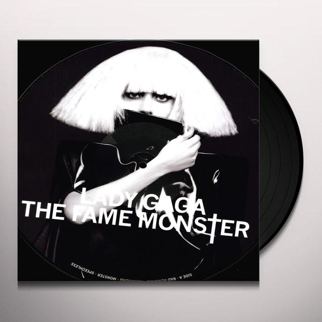 Lady Gaga FAME MONSTER (PICTURE DISC) Vinyl Record - Picture Disc