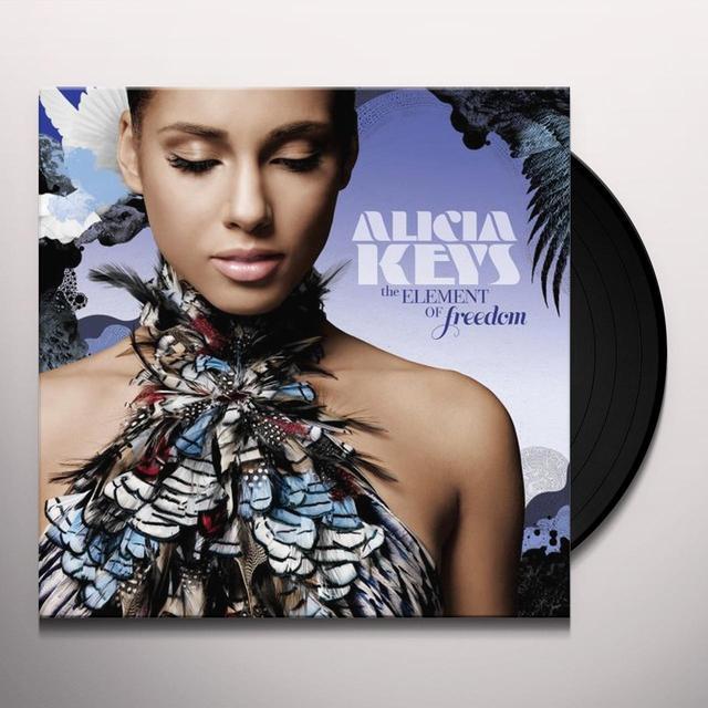 Alicia Keys ELEMENT OF FREEDOM Vinyl Record