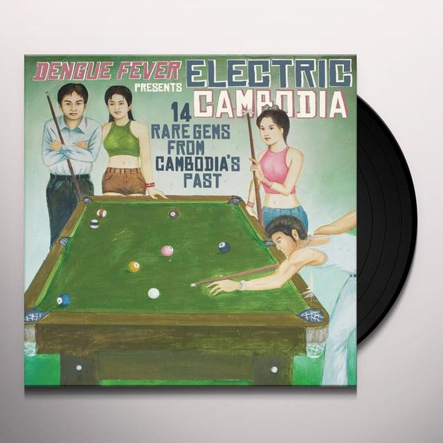 DENGUE FEVER PRESENTS: ELECTRIC CAMBODIA / VARIOUS Vinyl Record