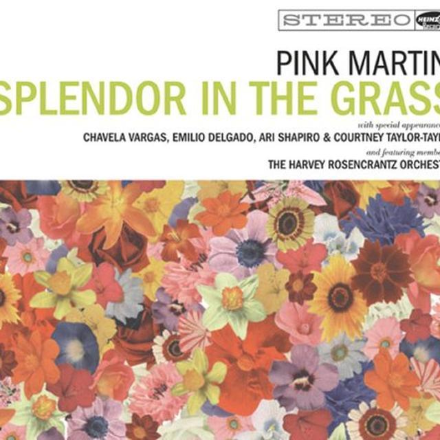 Pink Martini SPLENDOR IN THE GRASS Vinyl Record
