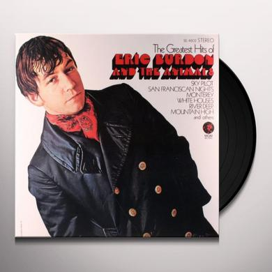 Eric Burdon GREATEST HITS OF Vinyl Record