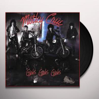 Motley Crue GIRLS GIRLS GIRLS Vinyl Record