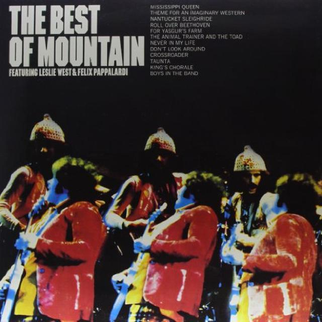 Mountain BEST OF Vinyl Record