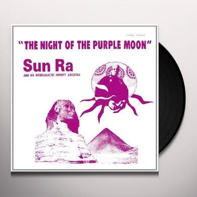 Sun Ra NIGHT OF THE PURPLE MOON Vinyl Record