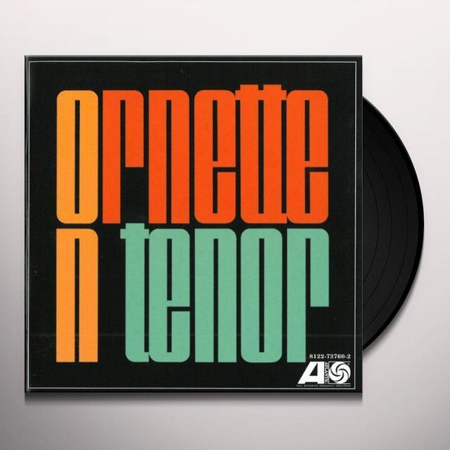 Ornette Coleman ORNETTE ON TENOR Vinyl Record