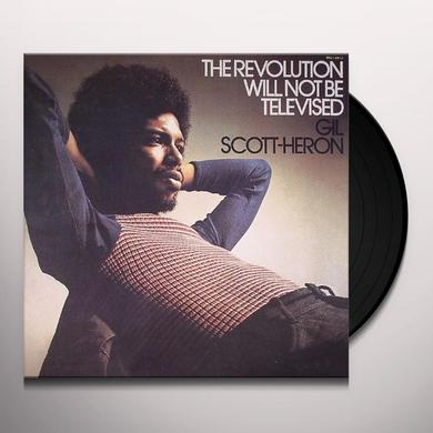 Gil Scott-Heron REVOLUTION WILL NOT BE TELEVISED Vinyl Record