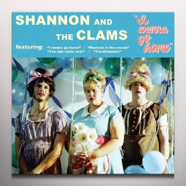 Shannon and The Clams I WANNA GO HOME Vinyl Record - Blue Vinyl
