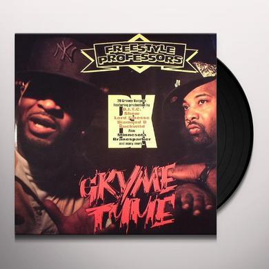 Freestyle Professors GRYME TYME Vinyl Record