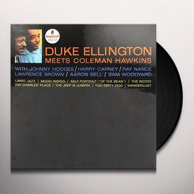 Duke Ellington / Coleman Hawkins DUKE ELLINGTON MEETS COLEMAN HAWKINS Vinyl Record