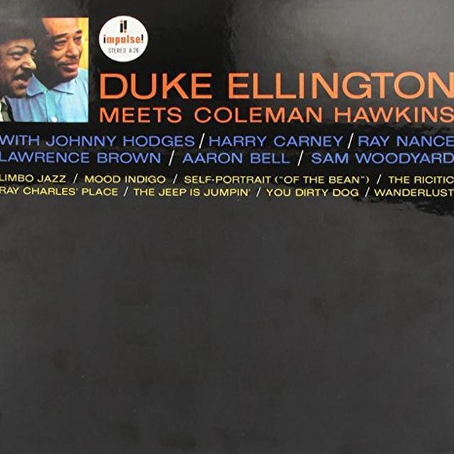 Duke Ellington / Coleman Hawkins DUKE ELLINGTON MEETS COLEMAN HAWKINS Vinyl Record