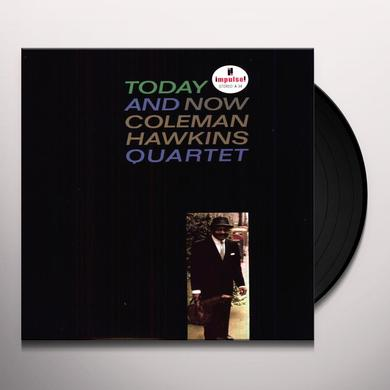 Coleman Hawkins TODAY & NOW Vinyl Record
