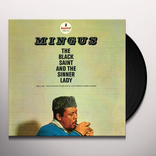 Charles Mingus BLACK SAINT & THE SINNER LADY Vinyl Record