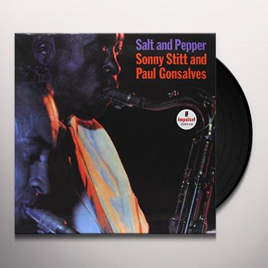 Sonny Stitt SALT & PEPPER Vinyl Record - 180 Gram Pressing