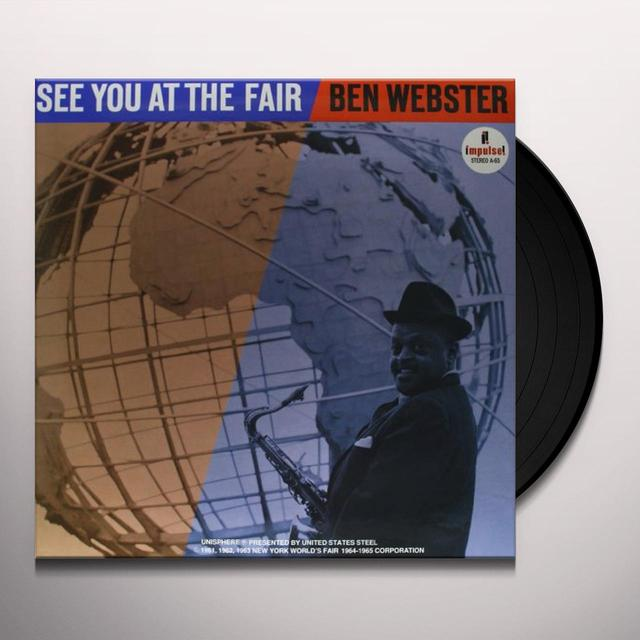 Ben Webster SEE YOU AT THE FAIR Vinyl Record