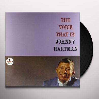 Johnny Hartman VOICE THAT IS Vinyl Record