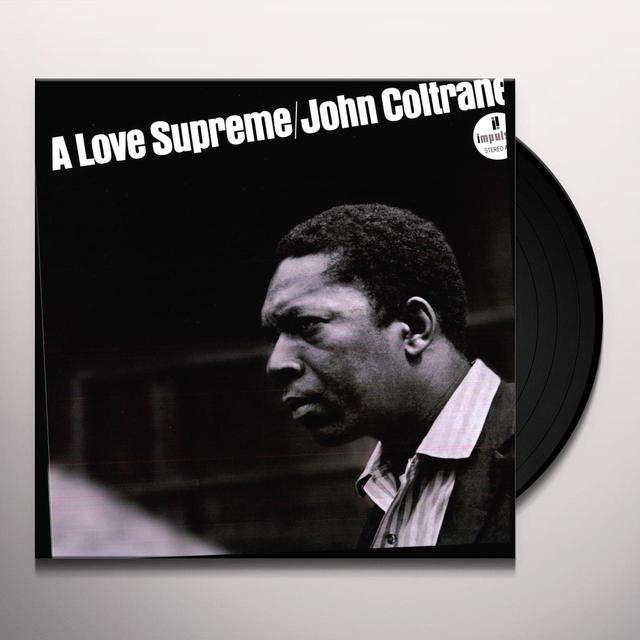John Coltrane LOVE SUPREME Vinyl Record